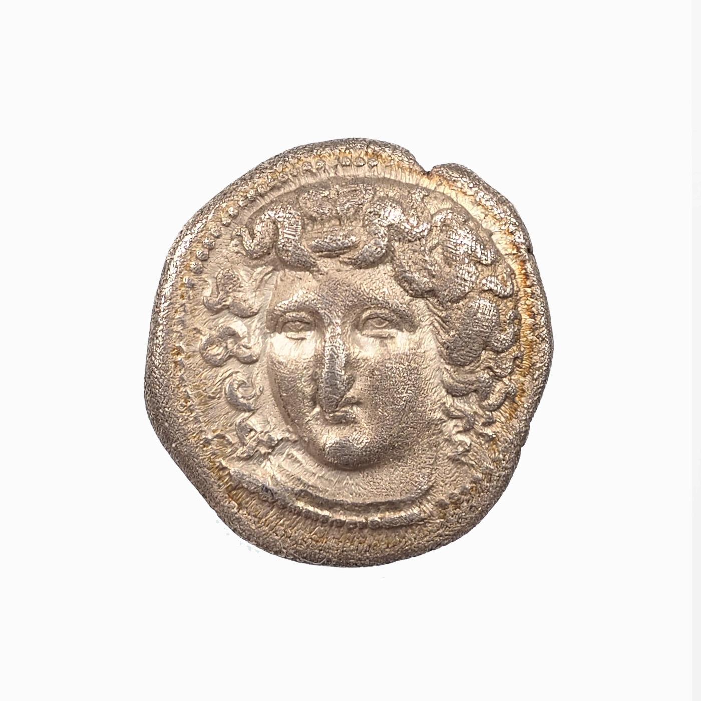 Thessalie, Larissa, Drachme, vers 365-356, Argent, TTB+, SNG COP 121