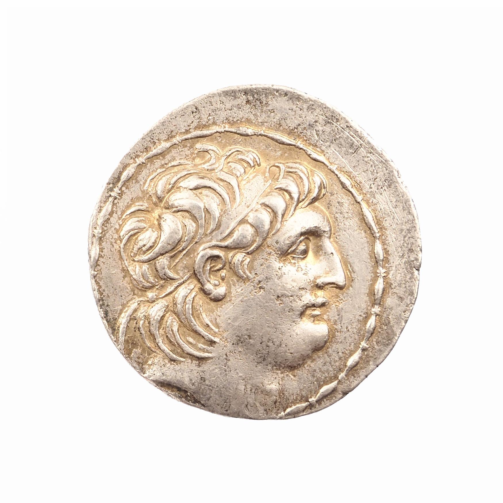 Royaume Séleucide, Antiochos VII (138-129 BC), Tétradrachme, Antioche, SMA 290.