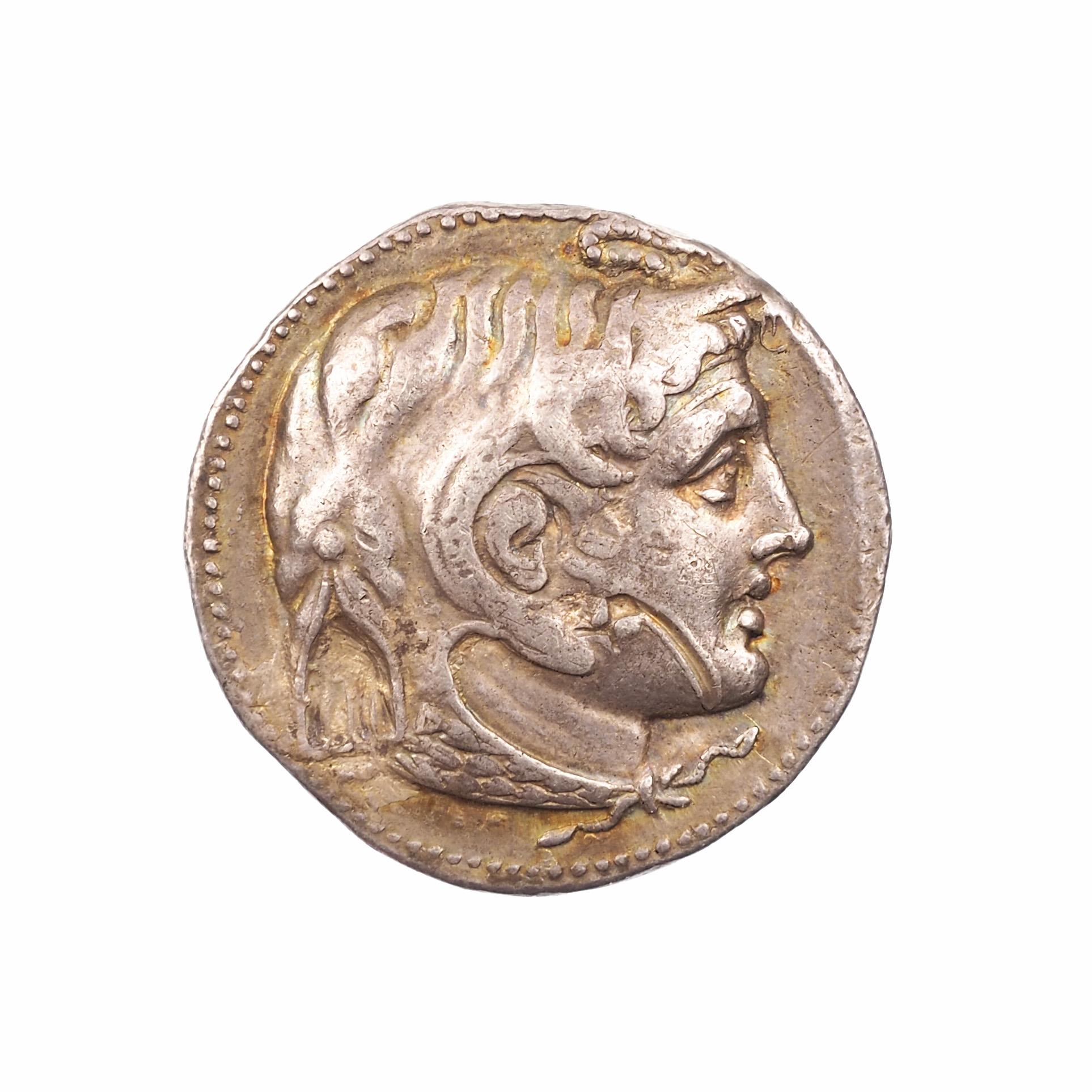 Ptolémée Ier Soter, Tétradrachme, Alexandrie, 323-305 BC, Svoronos 110, RARE !!!
