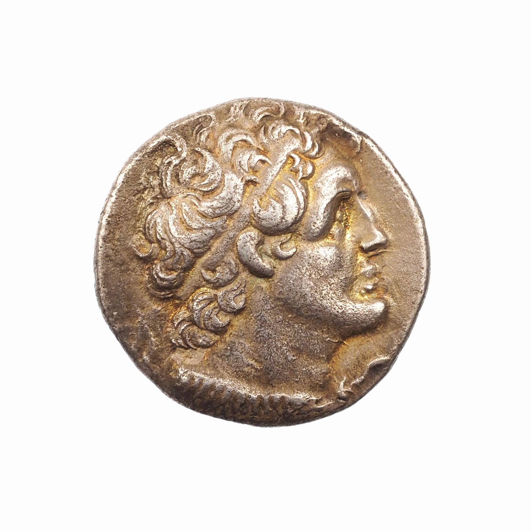 Ptolémée VI Philométor, Tétradrachme, Alexandrie, 180-145 BC, SNG Cop 264