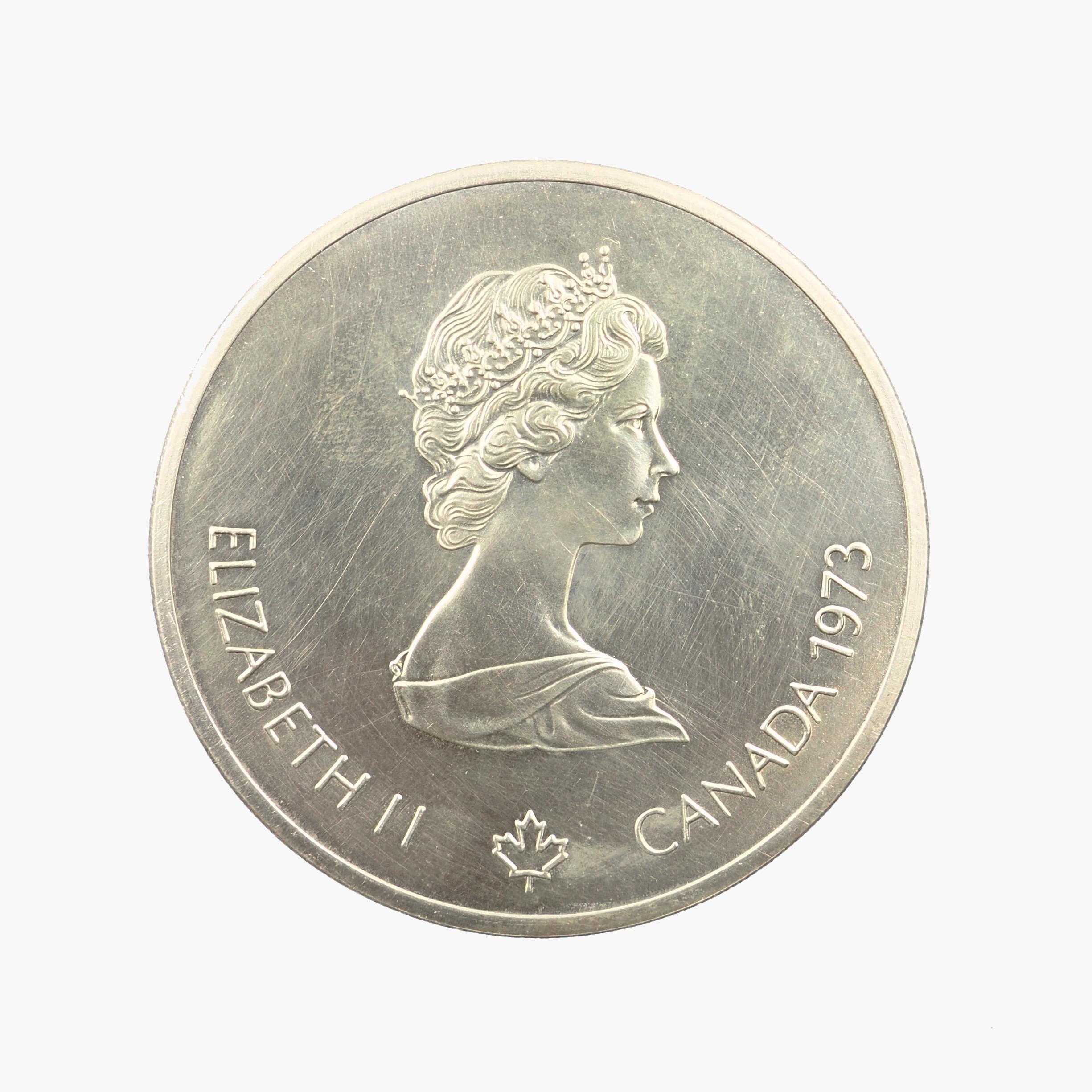 Canada, 10 Dollars 1973, XXIe Jeux olympiques à Montréal (1976), SUP+