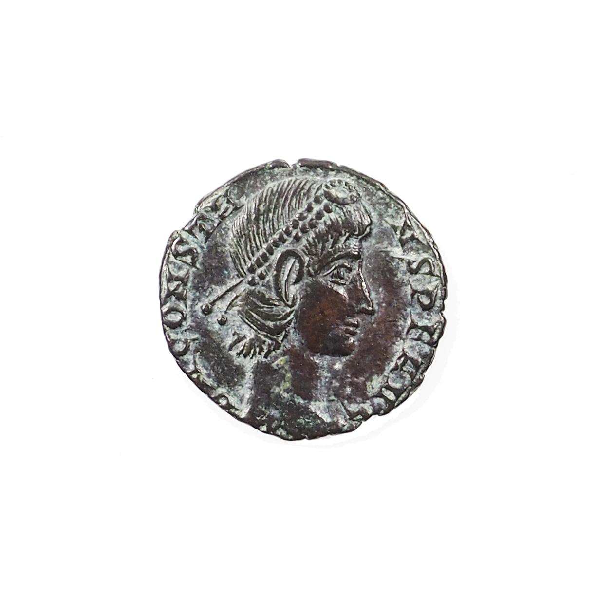 Constans (337-350), Nummus, Nicomedie, Cuivre, TTB+, RIC 59b
