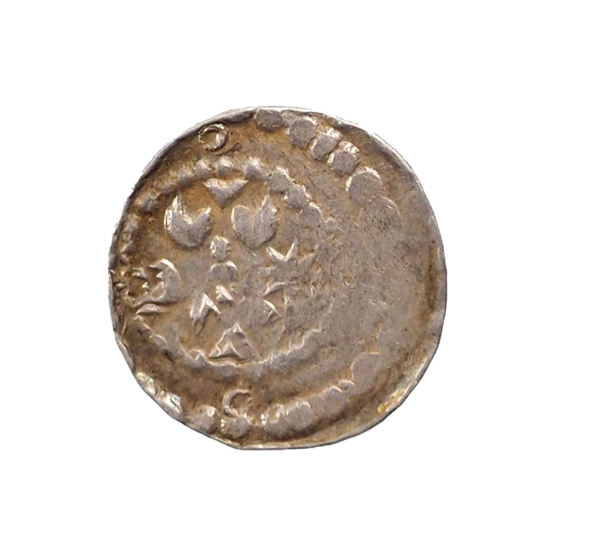 France, Arras, XIIth century, Maille, Silver, XF, GH 117