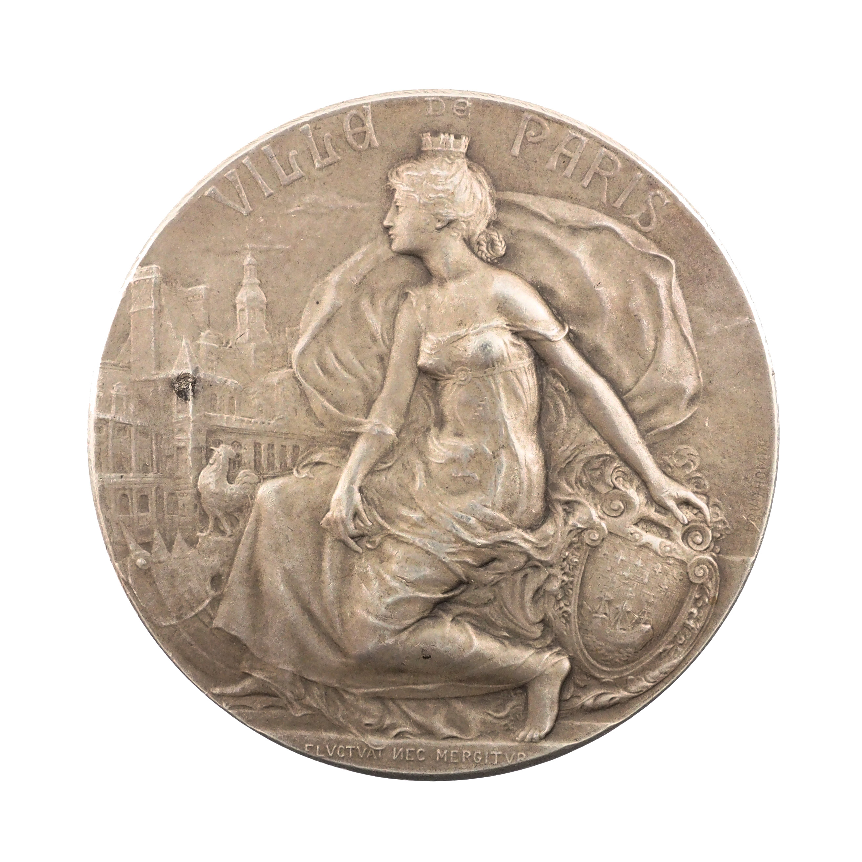 France, Médaille, Ville de Paris, Prix de Mr Juillard, Préfet de la Seine, SPL