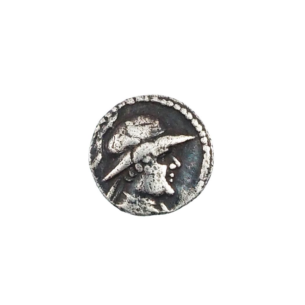 Royaume Bactriane, Eukratides Ier (171-135), Obole, Argent, SNG ANS 497