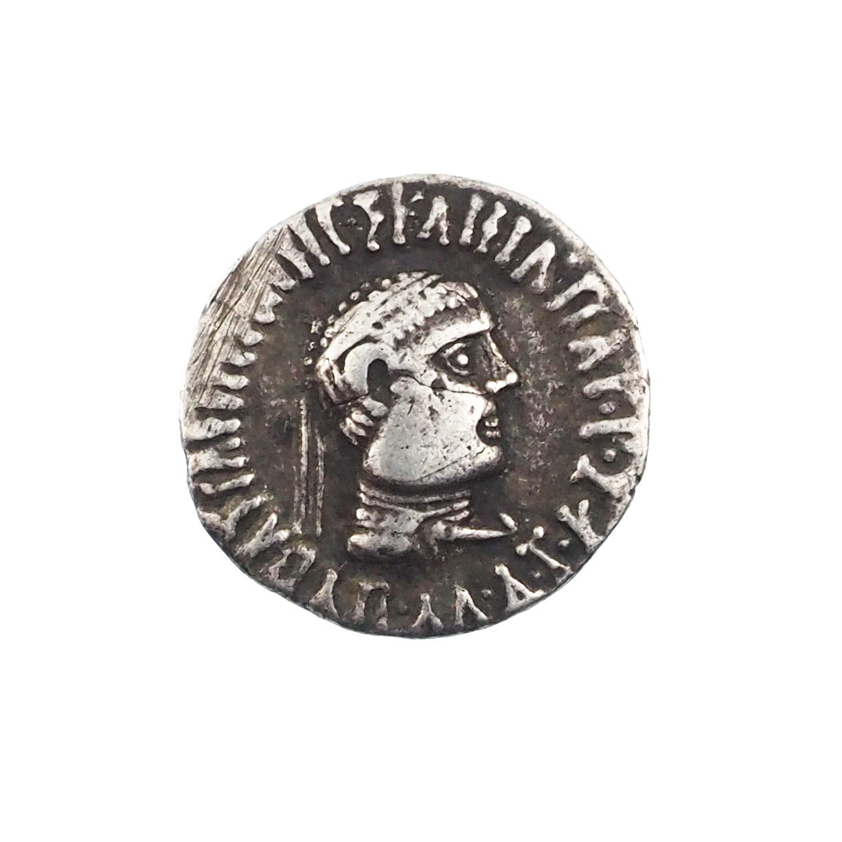 Royaume Bactriane, Appolodotus Ier (80-65), Drachme, Argent.