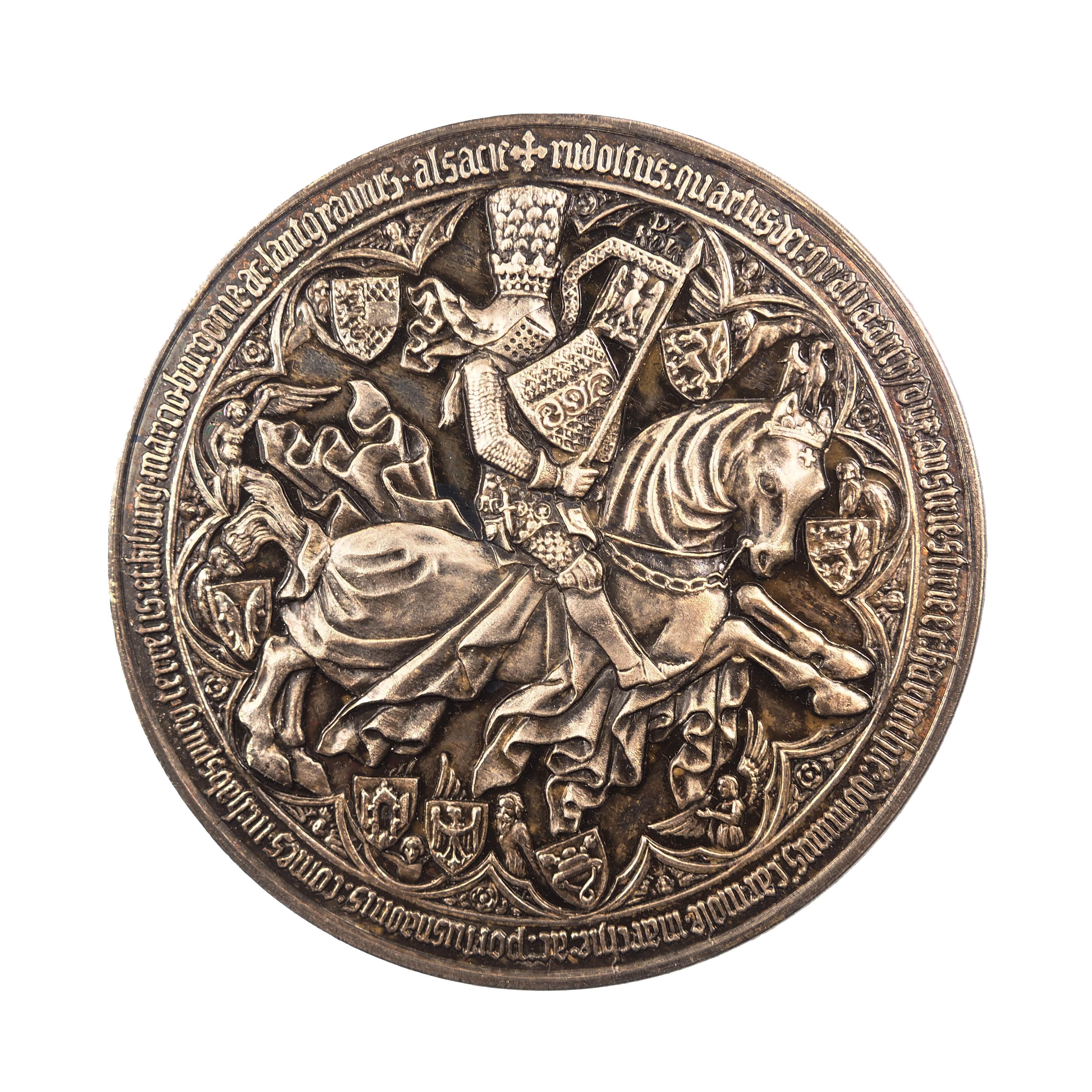 Autriche, Médaille, 500e anniversaire de la fondation de l'Université de Vienne