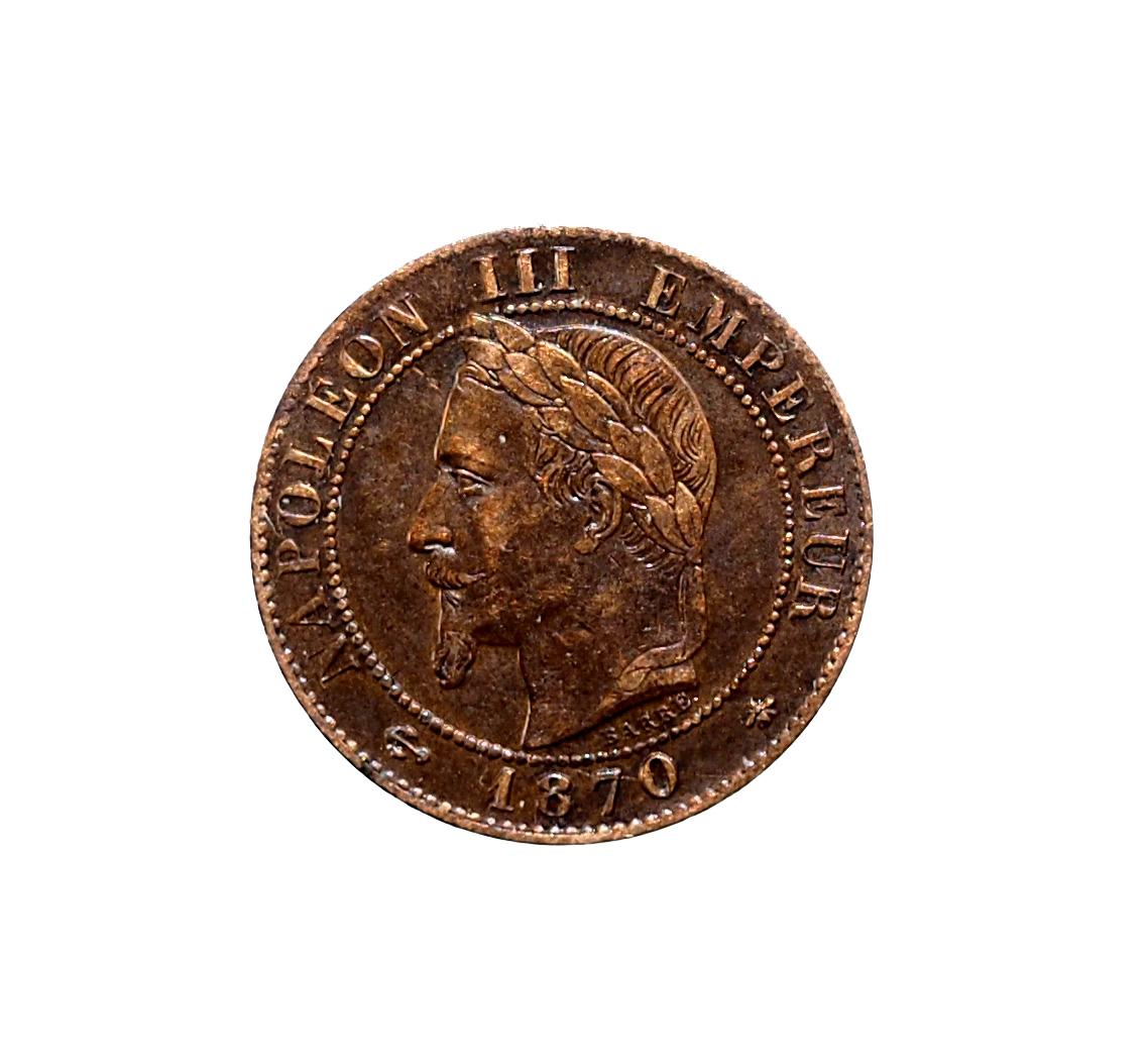Napoléon III, 1 Centime 1870 A Paris, TTB+