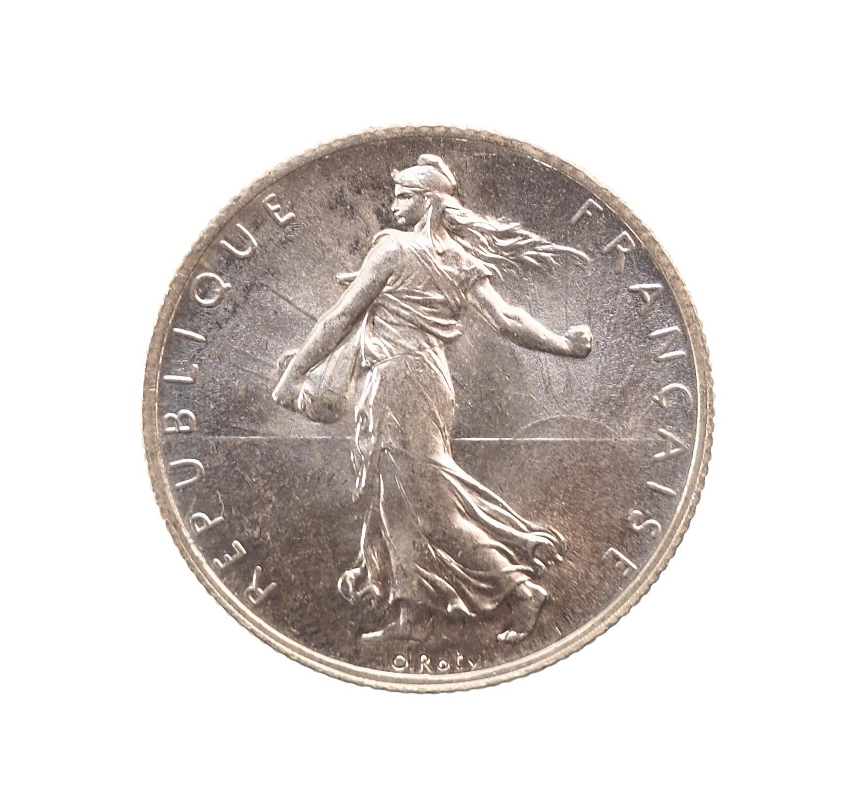 France, 2 Francs 1915, Paris, Argent, SPL, Gadoury 532, Le Franc 266