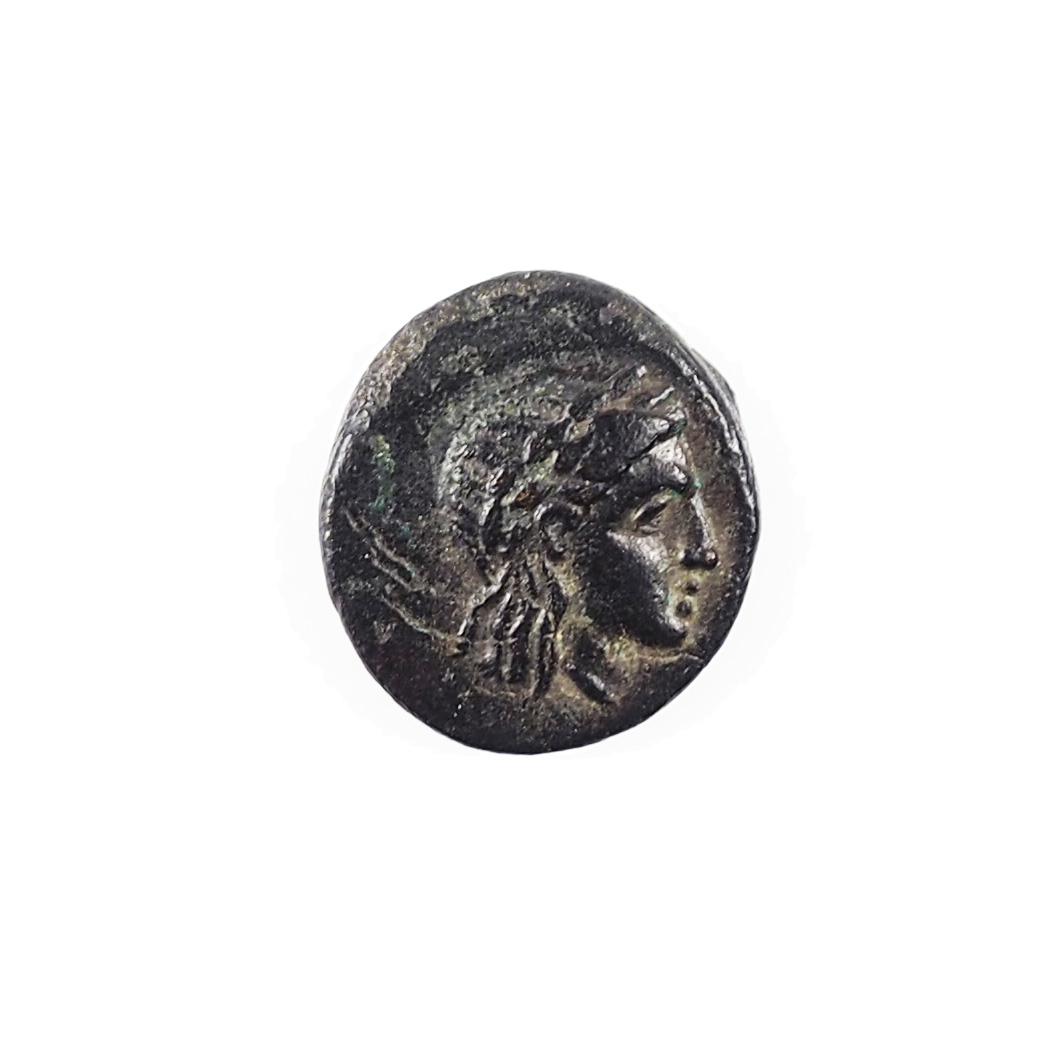 Mysie, Gambrion, Bronze AE10, IIIe siècle avt. J.-C., BMC 2, QUALITE !