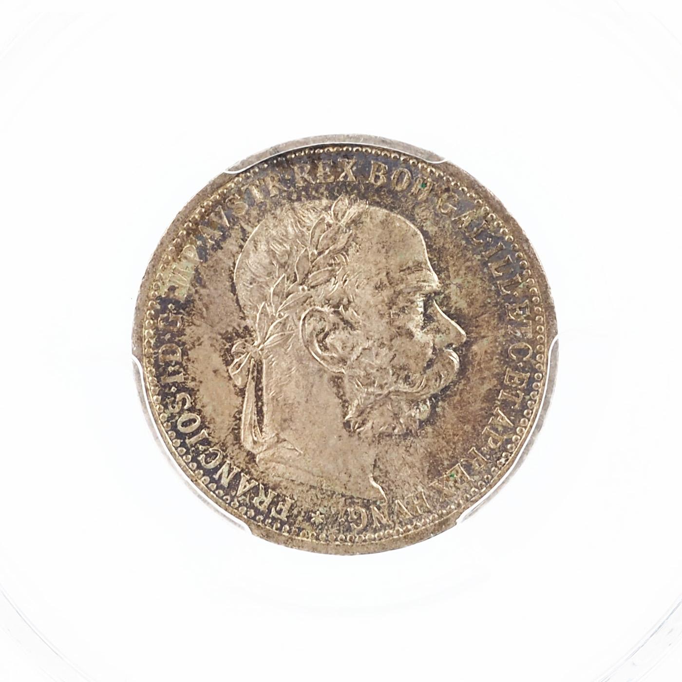 Autriche, François-Joseph I, Corona, 1899, Argent, KM 2804, PCGS MS65, GRADE !