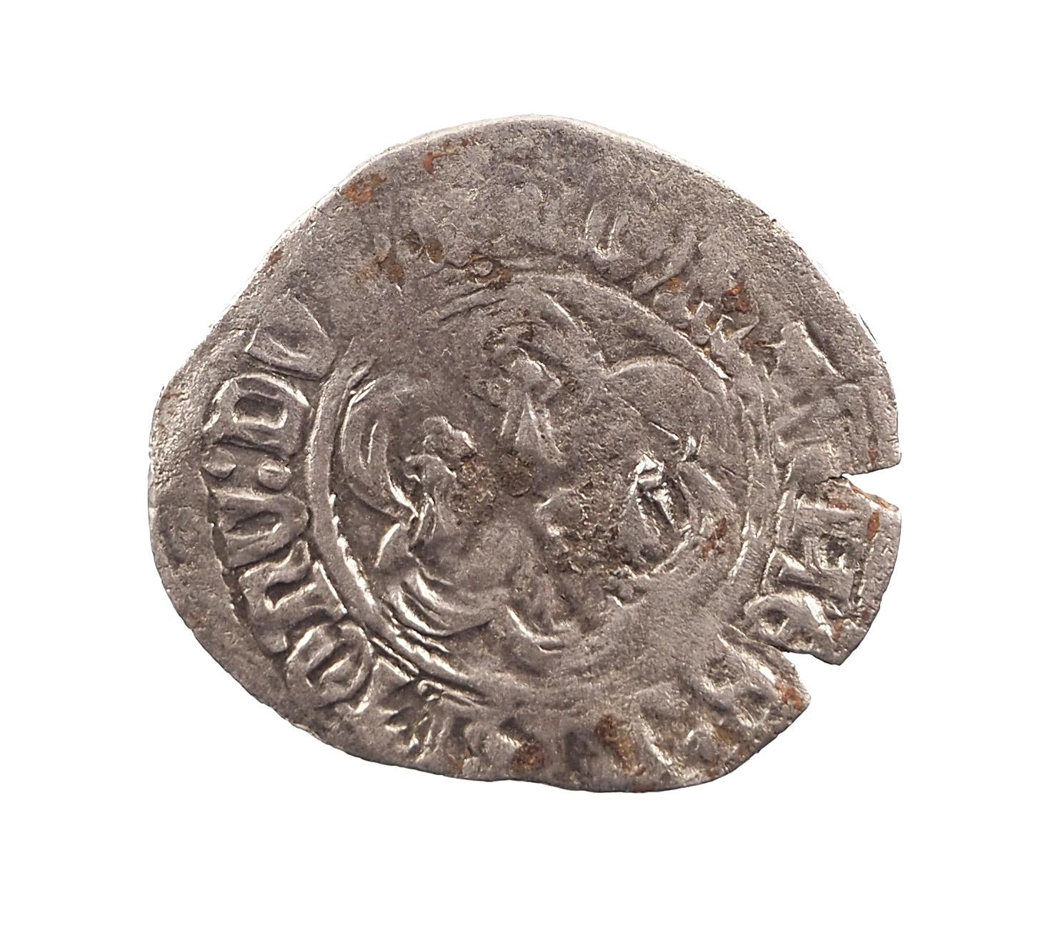 "France, Duché de Bretagne, Jean V (1399-1442), Blanc dit à ""l'hexabole"", PA.1130"