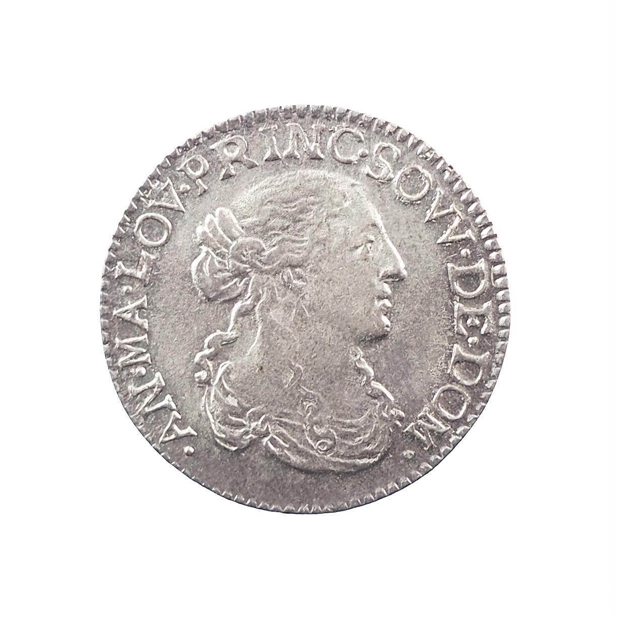 Dombes, Anne-Marie-Louise d'Orléans, 1/12 écu 1665, SUP, Bd. 1106